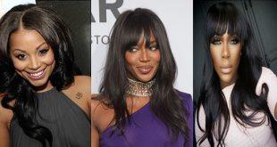 Schmeichelhafte Lange Frisuren für Schwarze Mädels